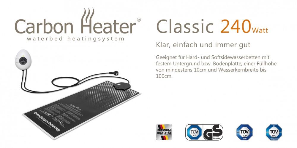 Wasserbett Heizung Carbon Heater Classic